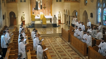 Holy Angels Novitiate Winona Choir