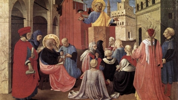 saint peter preaching on pentecost by fra angelico 1433