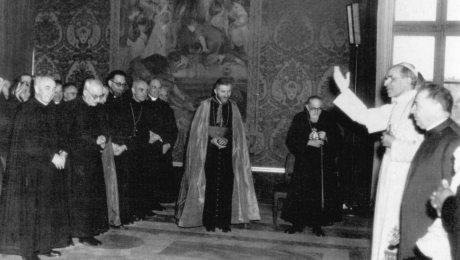 Archbishop Lefebvre Audience Pius Xii