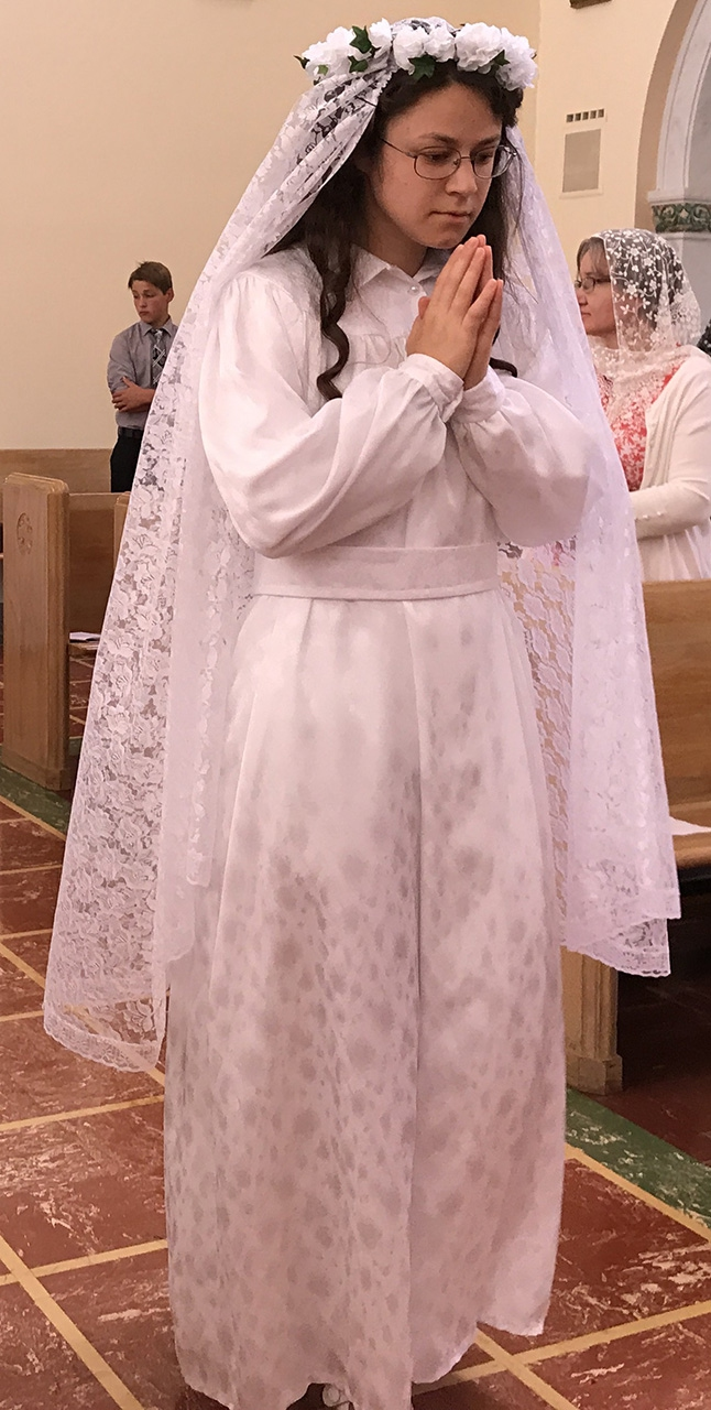 New Franciscan Sisters at Kansas City Convent - District of the USA