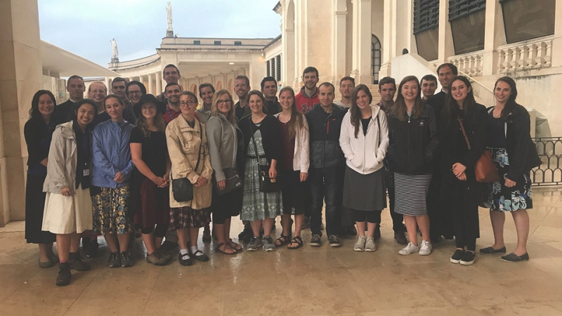 2017 Youth Pilgrimage - Fatima, Lourdes, Chartres - District