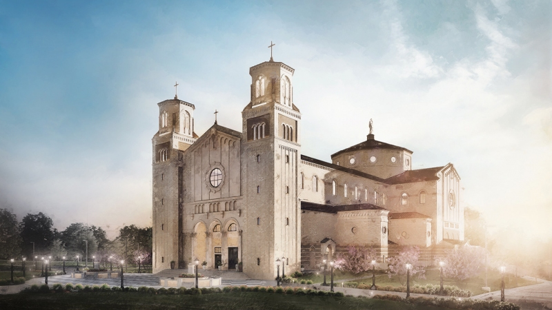 Immaculata Church Rendering