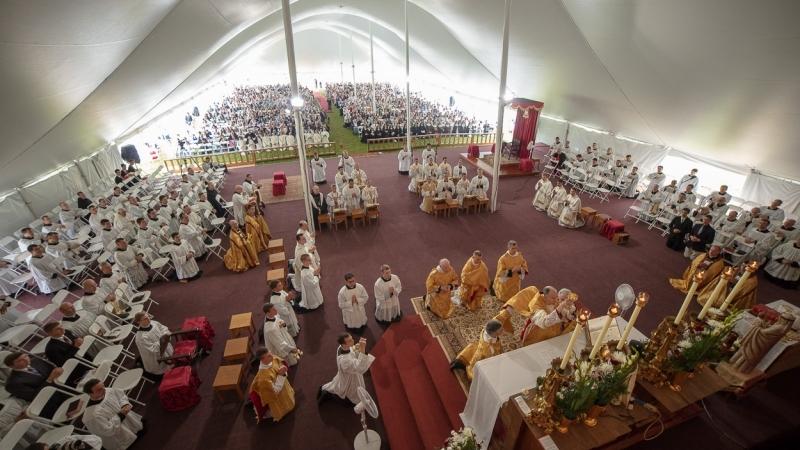SSPX Ordinations 2018 Thomas Aquinas Seminary