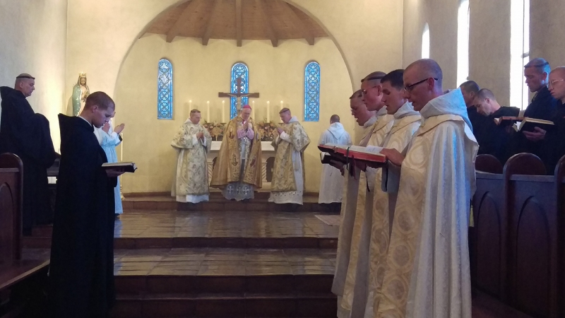 Blessing of a New Religious House for Benedictine Sisters in