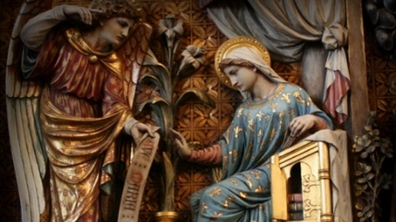 mass lessons from annunciation district of the usa