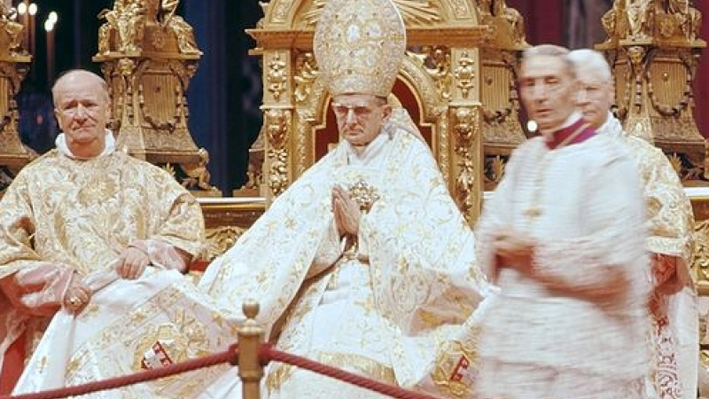 50 years ago: Pope Paul VI's election - District of the USA